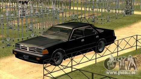 Nissan Gloria Zenki (Y30) pour GTA San Andreas laissé vue
