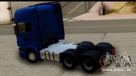Scania G 4х6 für GTA San Andreas rechten Ansicht