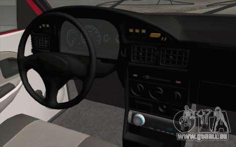 Dacia SuperNova pour GTA San Andreas vue de droite