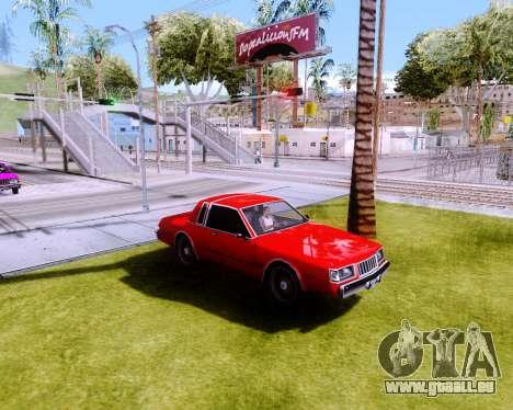 ENB Low PC AKedition pour GTA San Andreas deuxième écran