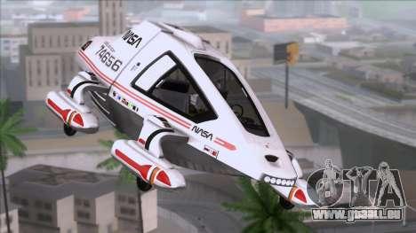 Shuttle v2 Mod 2 für GTA San Andreas
