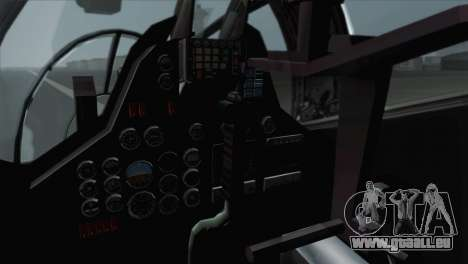 Savage GTA 5 v1.1 für GTA San Andreas Rückansicht