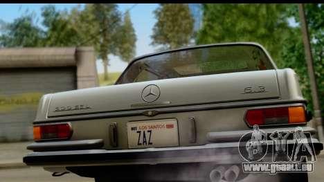 Mercedes-Benz 300 SEL 6.3 (W109) 1967 IVF АПП für GTA San Andreas rechten Ansicht