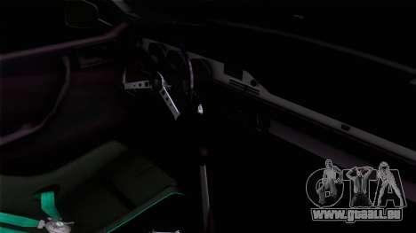 Dacia 1300 GFB Stanced pour GTA San Andreas sur la vue arrière gauche