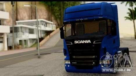 Scania G 4х6 für GTA San Andreas zurück linke Ansicht