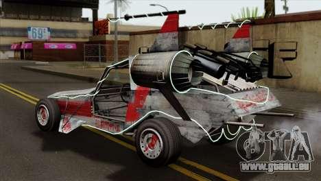 GTA 5 Space Docker IVF pour GTA San Andreas laissé vue