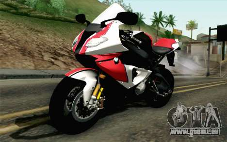 BMW S1000RR HP4 v2 Red pour GTA San Andreas
