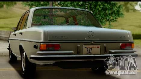 Mercedes-Benz 300 SEL 6.3 (W109) 1967 FIV АПП pour GTA San Andreas vue de côté