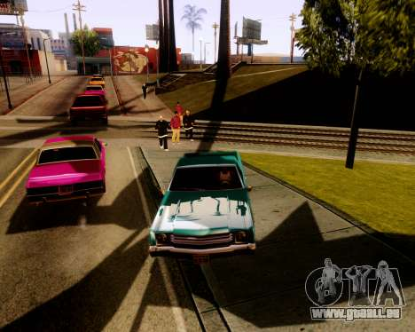 Ultimate ENB Series für GTA San Andreas zweiten Screenshot