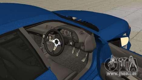Nissan Skyline R32 Sedan für GTA San Andreas zurück linke Ansicht