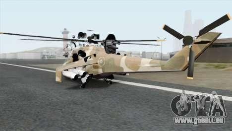 Savage GTA 5 v1.1 für GTA San Andreas linke Ansicht