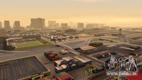 La possibilité de jouer pour les oiseaux v2 pour GTA San Andreas troisième écran