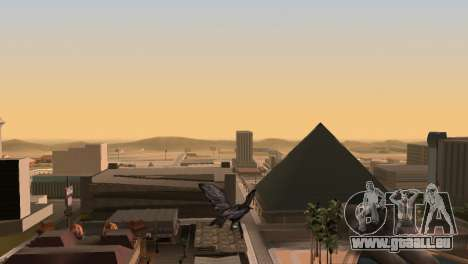 La possibilité de jouer pour les oiseaux v2 pour GTA San Andreas quatrième écran