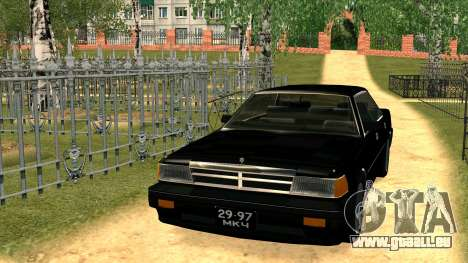 Nissan Gloria Zenki (Y30) pour GTA San Andreas vue arrière