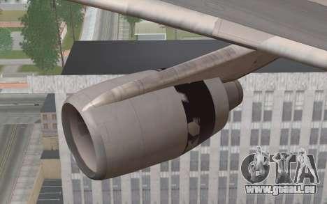 Lookheed L-1011 Eastern Als pour GTA San Andreas vue de droite