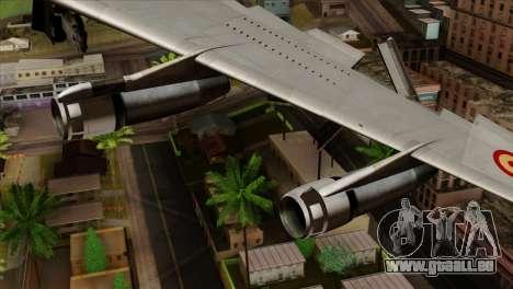 Boeing 707-300 Fuerza Aerea Espanola pour GTA San Andreas vue de droite