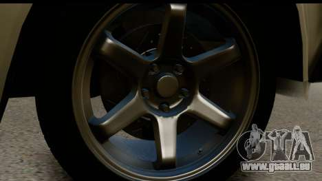 VAZ 21074 für GTA San Andreas Rückansicht