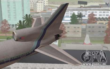Lookheed L-1011 Eastern Als pour GTA San Andreas sur la vue arrière gauche