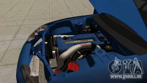 Nissan Skyline R32 Sedan für GTA San Andreas Rückansicht