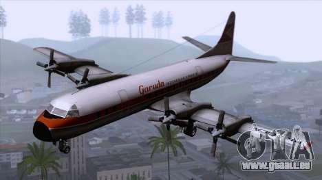 L-188 Electra Garuda Indonesia für GTA San Andreas