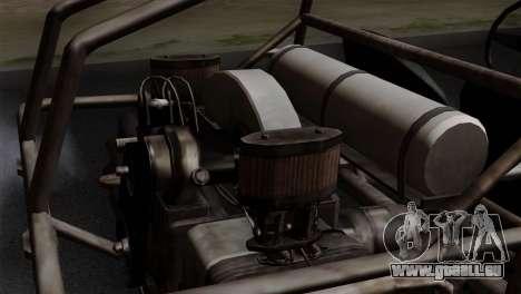 GTA 5 Dune Buggy pour GTA San Andreas vue de droite