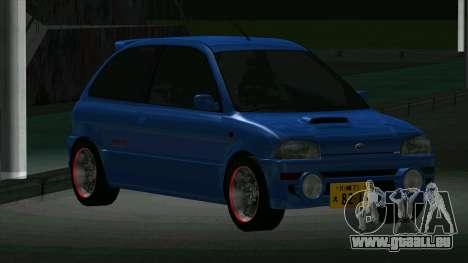 Subaru Vivio RX-R pour GTA San Andreas laissé vue