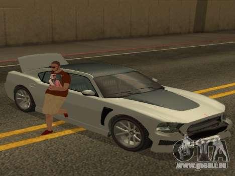 ALEX&GRIN Skin pour GTA San Andreas deuxième écran