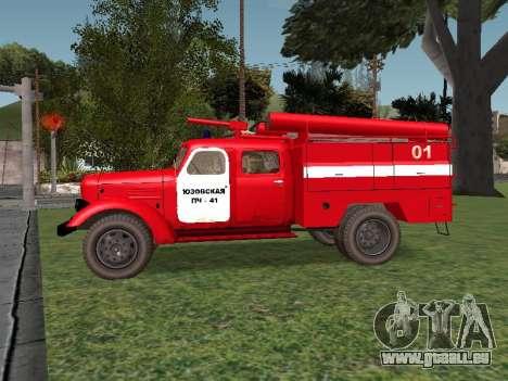 ZIL 164 Feuer für GTA San Andreas linke Ansicht