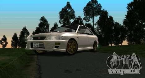 Subaru Impreza Sports Wagon WRX STI pour GTA San Andreas