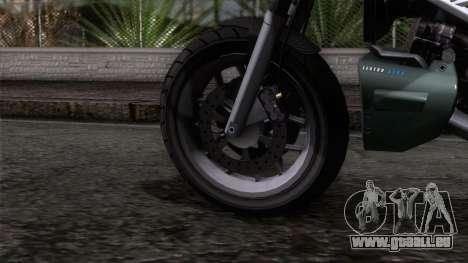 Principe Lectro pour GTA San Andreas sur la vue arrière gauche