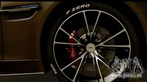 Aston Martin Vanquish 2013 Road version pour GTA San Andreas vue de droite