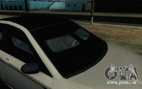 GTA 5 Karin Kuruma v2 Armored SA Mobile pour GTA San Andreas vue arrière