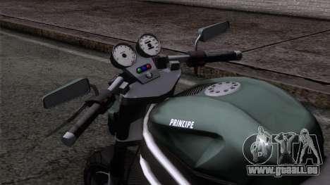 Principe Lectro pour GTA San Andreas vue de droite
