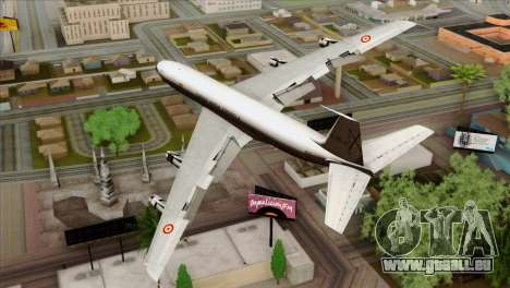 Boeing 707-300 Fuerza Aerea Espanola für GTA San Andreas linke Ansicht