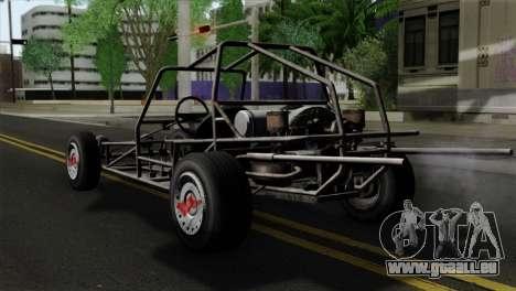 GTA 5 Space Docker SA Mobile für GTA San Andreas linke Ansicht