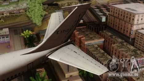 Boeing 707-300 Fuerza Aerea Espanola für GTA San Andreas zurück linke Ansicht