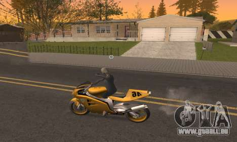CLEO Drive By pour GTA San Andreas cinquième écran