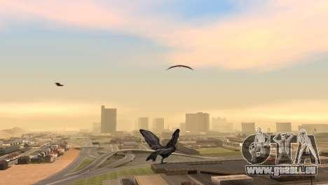 La possibilité de jouer pour les oiseaux v2 pour GTA San Andreas deuxième écran