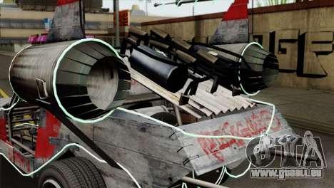 GTA 5 Space Docker IVF für GTA San Andreas Rückansicht