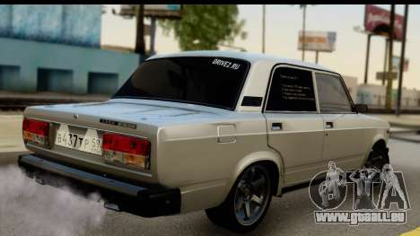VAZ 21074 für GTA San Andreas linke Ansicht