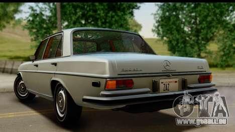 Mercedes-Benz 300 SEL 6.3 (W109) 1967 FIV АПП pour GTA San Andreas laissé vue