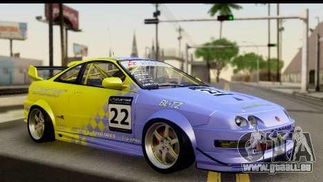 Acura Integra Type R 2001 pour GTA San Andreas