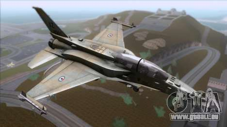 F-16F Fighting Falcon United Arab Emirates pour GTA San Andreas