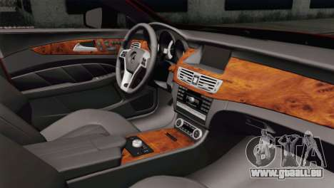 Mercedes-Menz CLS63 AMG für GTA San Andreas rechten Ansicht