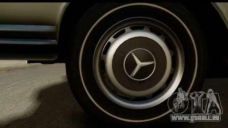 Mercedes-Benz 300 SEL 6.3 (W109) 1967 IVF АПП für GTA San Andreas Rückansicht