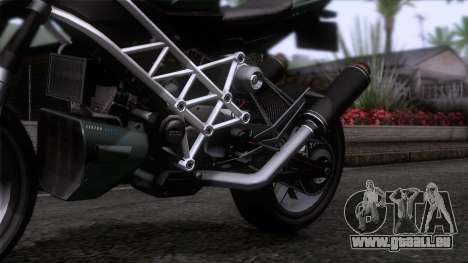 Principe Lectro pour GTA San Andreas vue arrière