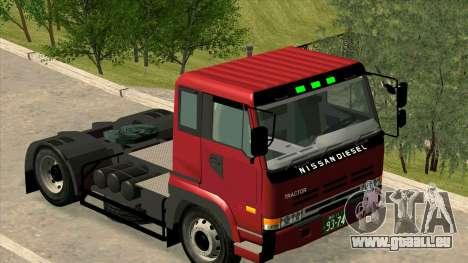 Nissan Diesel Bigthumb CK pour GTA San Andreas laissé vue