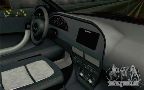 GTA 5 Obey Tailgater v2 SA Style pour GTA San Andreas vue de droite