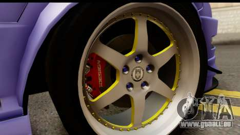 Acura Integra Type R 2001 pour GTA San Andreas vue intérieure