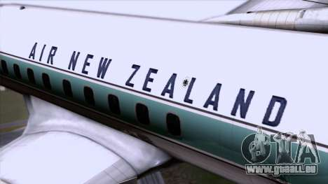 L-188 Electra Air New Zealand für GTA San Andreas Rückansicht